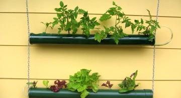 easy DIY indoor wall hanging planter