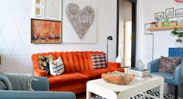 eclectic rooms with DIY wall decor