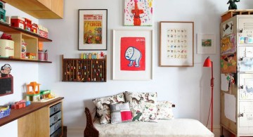eclectic rooms with unique wall decor