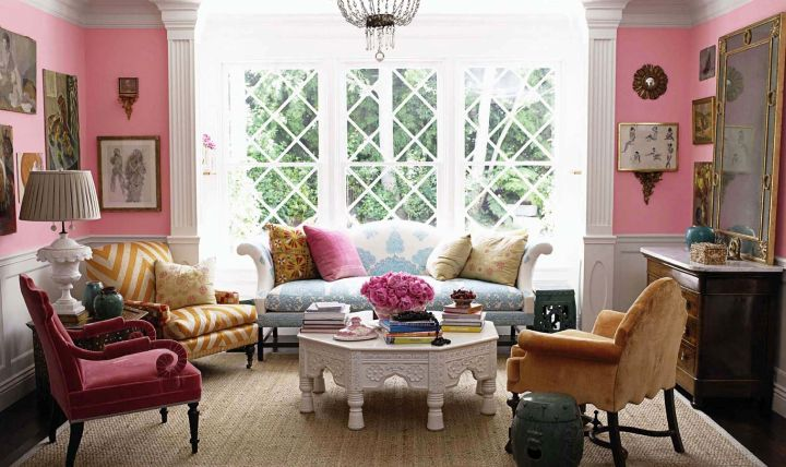 elegant eclectic rooms