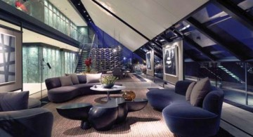 featured image of Penthouse NEO balcony lounge at night