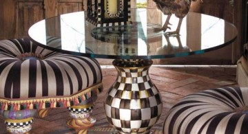 featured image of checkered pedestal table base ideas
