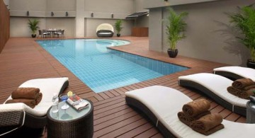 featured image of enclosed swimming pool wooden deck design ideas