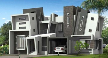featured image of futuristic house plans with unique facade