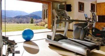 featured image of home gyms design ideas in garage with door open