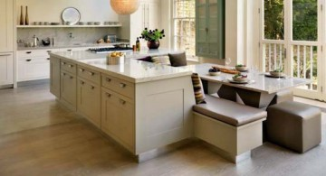 featured image of kitchen island with seating for six with skylight