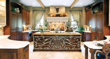 featured image of mediterranean kitchen designs with lavish decoration
