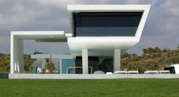 futuristic house plans unique tiered