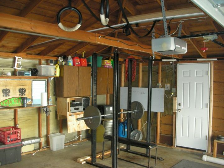 home gyms ideas in the garage