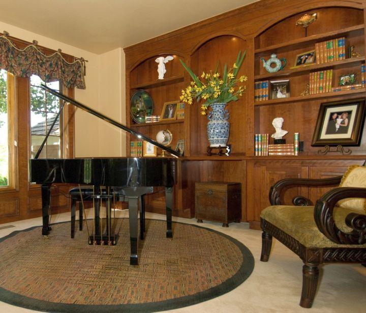 17 Minimalist Home Music Room Decoration and