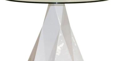 iceberg pedestal table base ideas