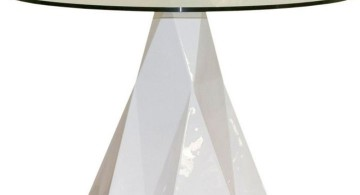 iceberg pedestal table base ideas