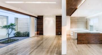 indian modern house kitchen area