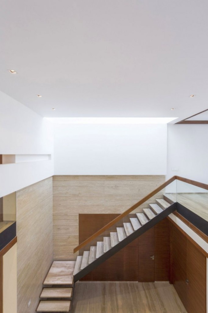 indian modern house staircase
