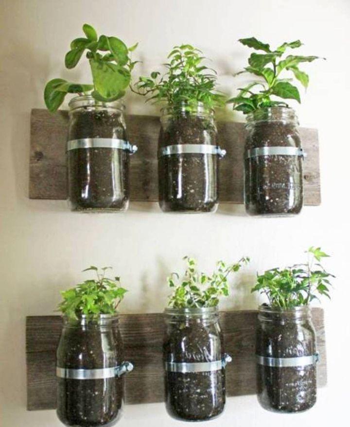 Indoor wall hanging herb planters indoor wall hanging planter indoor