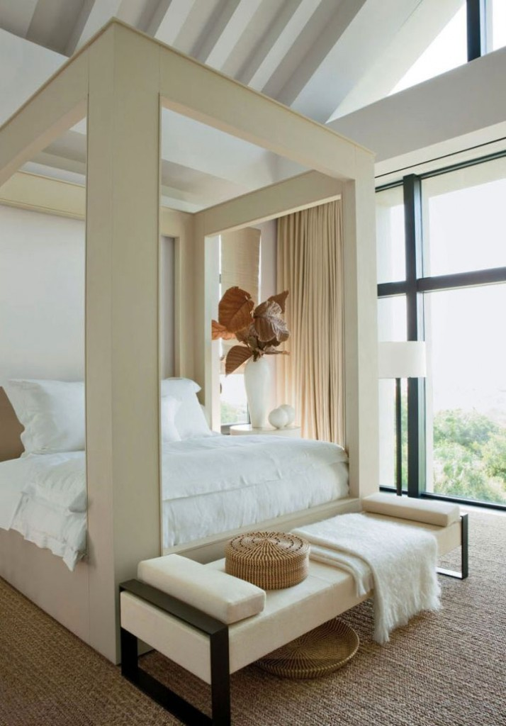 kiawah island house master bedroom