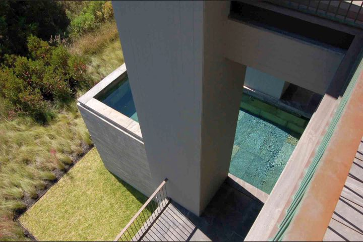 kiawah island house pool from above