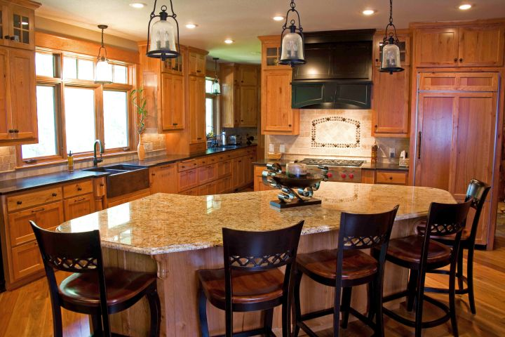 kitchen island with seating for six for small kitchen