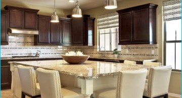 kitchen island with seating for six simply white