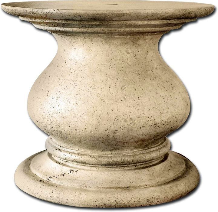 large granite pedestal table base ideas