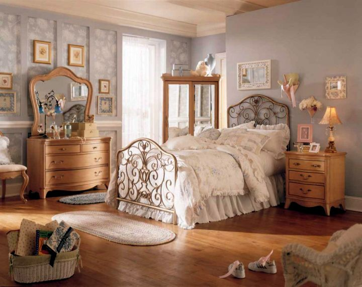18 chic vintage bedroom decoration ideas for Classy chic bedroom ideas