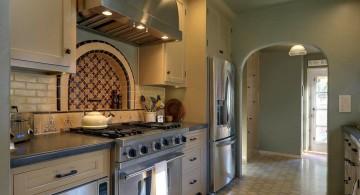 mediterranean kitchen designs in olive and gray