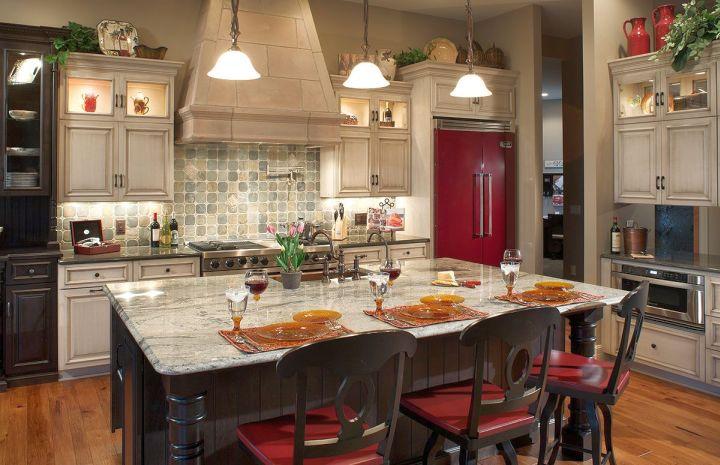 mediterranean kitchen designs with kitchen bar