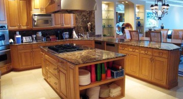 mediterranean kitchen designs with small kitchen island
