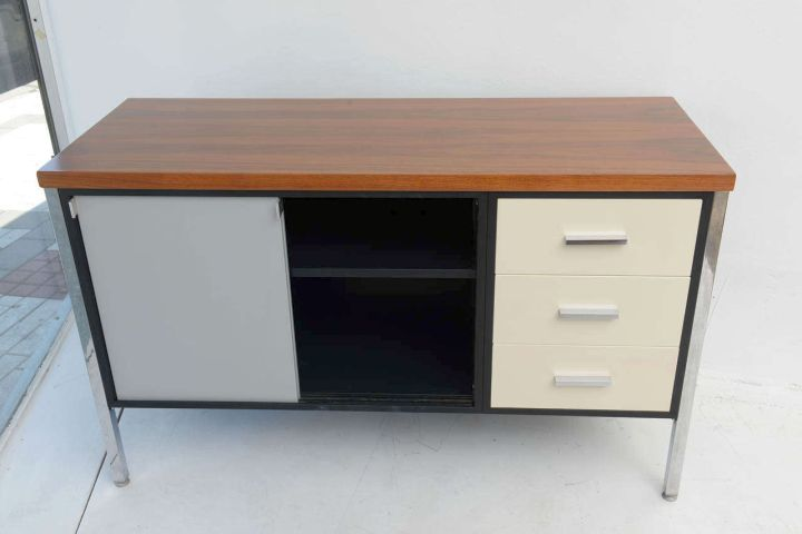 metal credenza with drawers