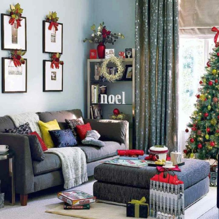 17 sparkling christmas room interior decor ideas Christmas interior decorating ideas