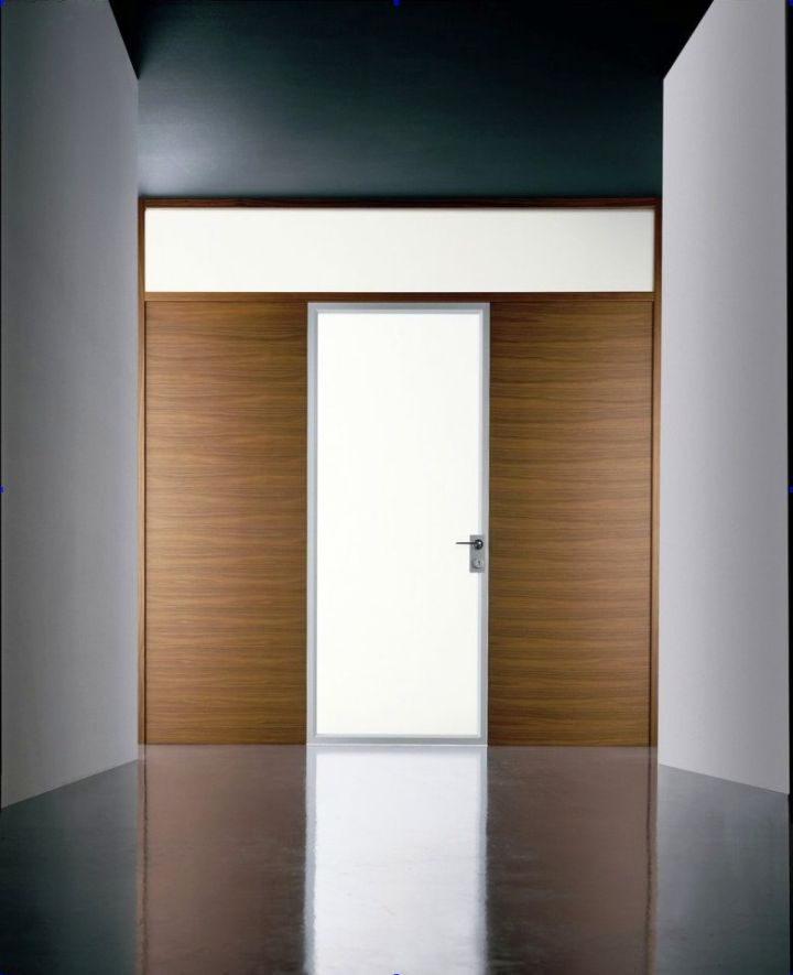 modern glass door for entrance