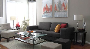 modern small living room ideas
