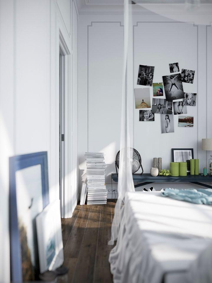 murmansk apartment bedroom wall
