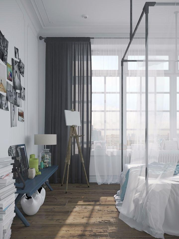 murmansk apartment bedside wall