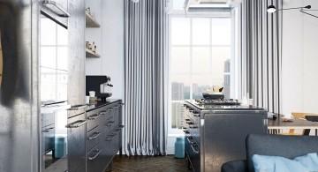 murmansk apartment kitchen hallway
