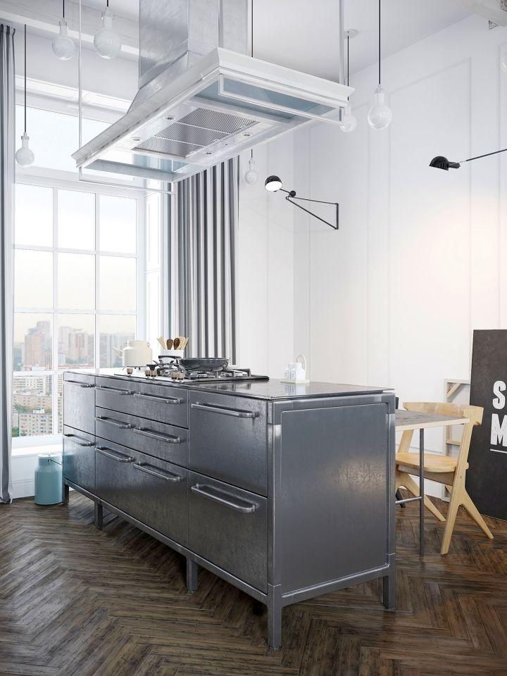 murmansk apartment kitchen island