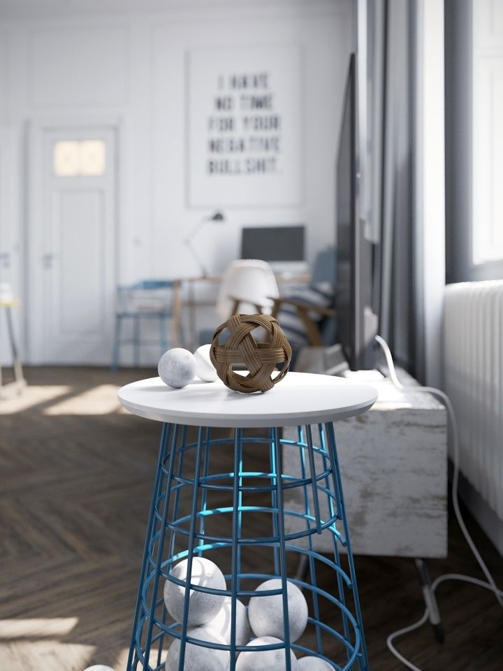 murmansk apartment living room light