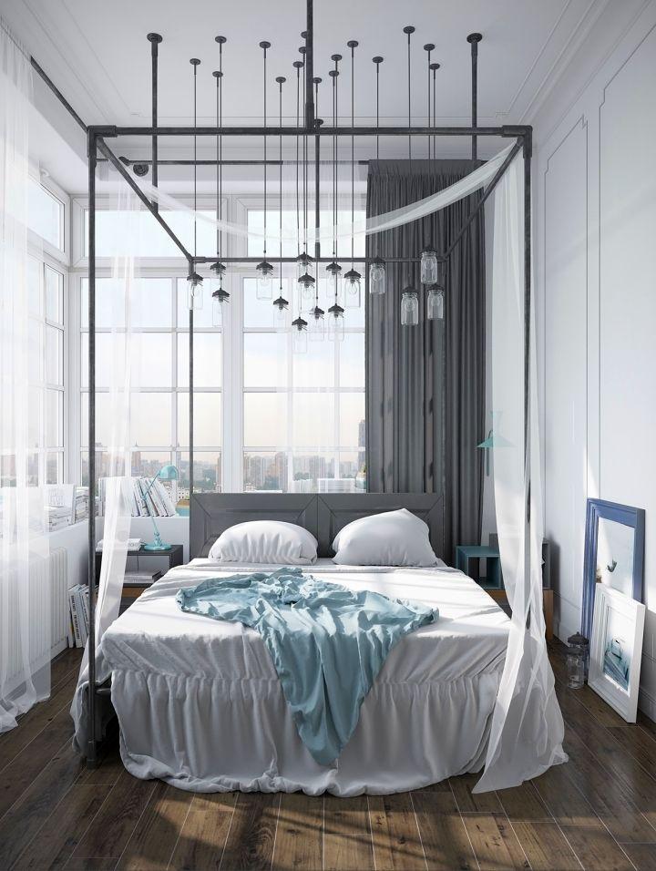 murmansk apartment master bedroom