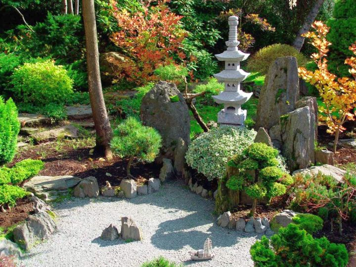 18 equable oriental garden designs landscaping ideas for Japanese garden designs for small gardens