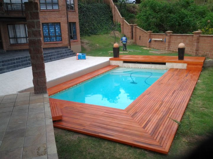 Swimming Pool Deck Ideas pool with deck ideas photo of good above ground pool deck plans design ideas free Gallery For Wood Pool Deck Designs