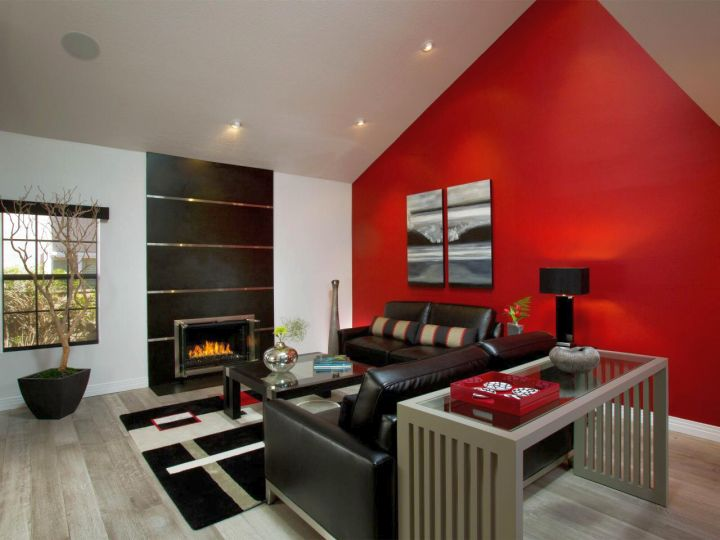red wall living room. Gallery For Living Rooms With Red Wall Accent 18 Astounding In Room Ideas