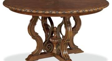 round classic pedestal table base ideas