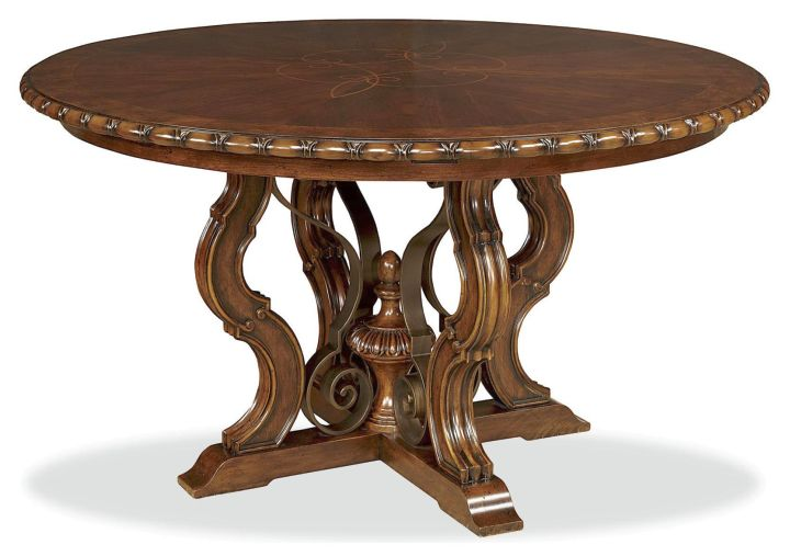 round classic pedestal table base ideas