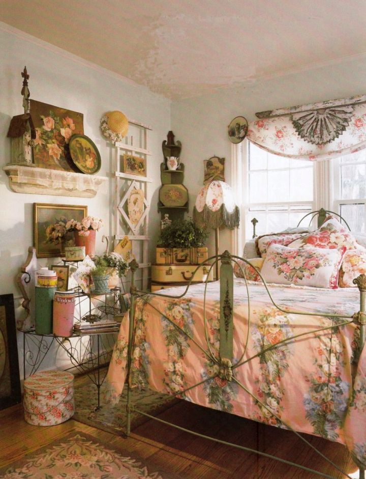 rustic vintage bedroom decoration ideas