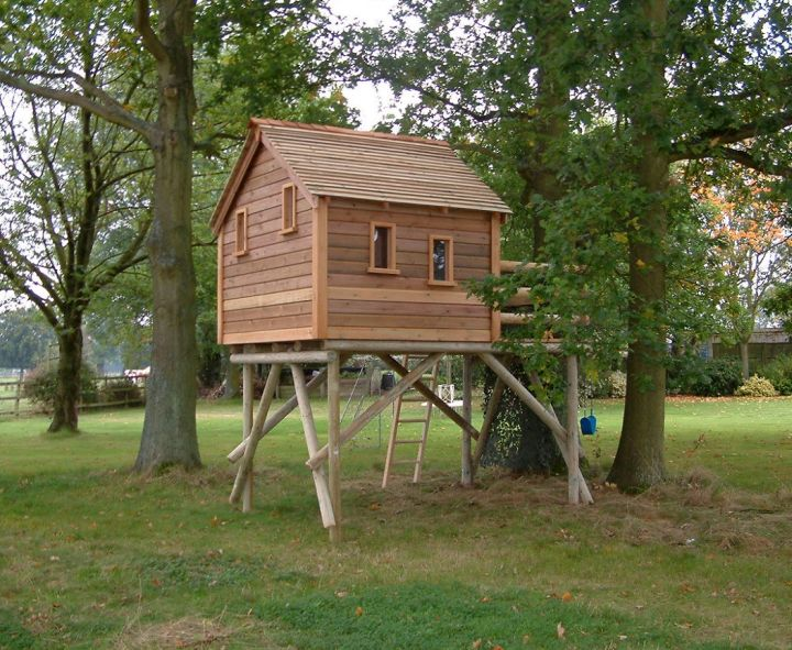 17 fun looking tree house on stilts ideas for Tiny house on stilts