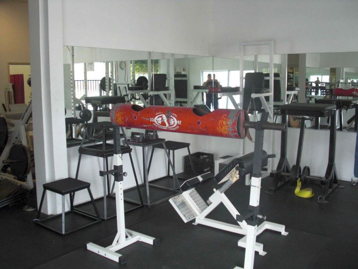 17 modern home gym design ideas to keep you toned for Home gym designs and layout