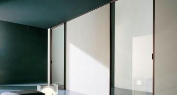 simple modern glass door