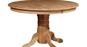 simple pedestal table base ideas