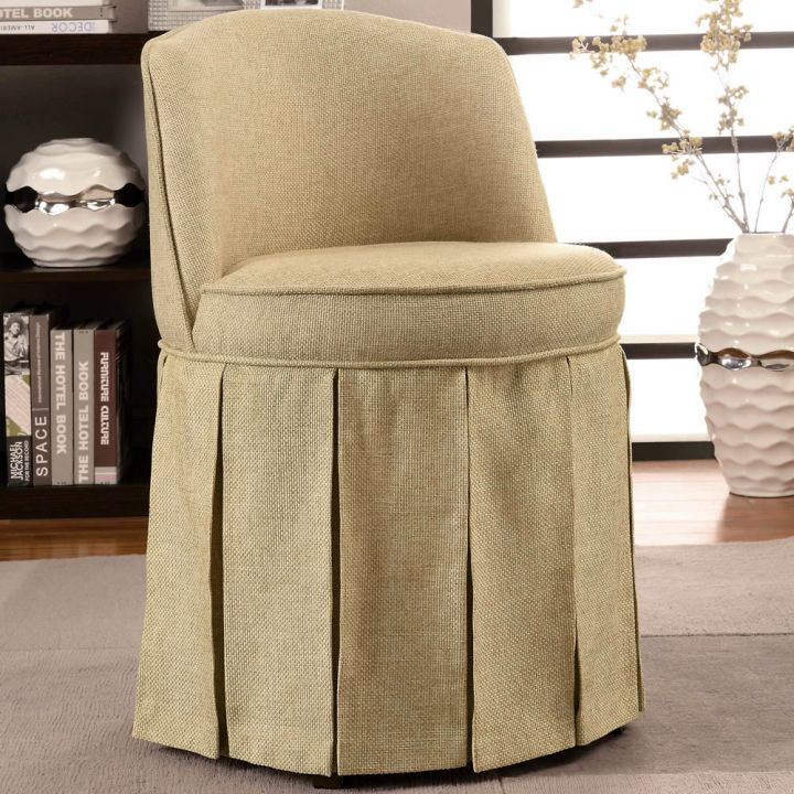 Marvelous Taupe Vanity Chair Gallery - Best image 3D home interior ...