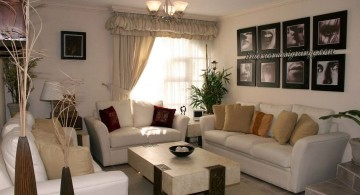 small living room ideas with white sofa